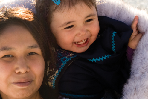 To help his daughter retain the Inuit language, Vancouver-based Qajaaj