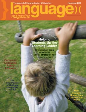 November 2003 Cover