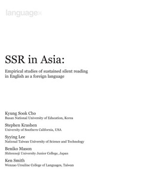 Sustained Silent Reading in Asia
